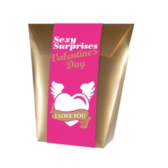 Coffret sexy surprise Saint Valentin