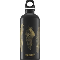 SIGG Gourde Feathers Black 0.6 l