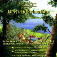 CD audio Deep 10 Relaxation