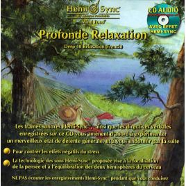 CD audio Profonde Relaxation