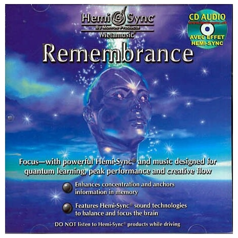 CD audio Remembrance Mémorisation