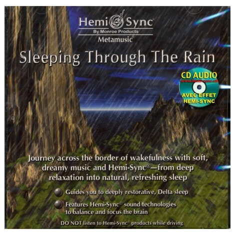 CD audio Sleeping through the rain