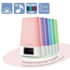 Réveil matin original Wake-up Light White 450