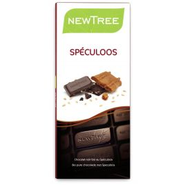 Tablette Chocolat Noir Speculoos