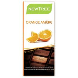 Tablette Chocolat Lait Orange amère