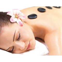 Coffret de 12 pierres de massage ovales