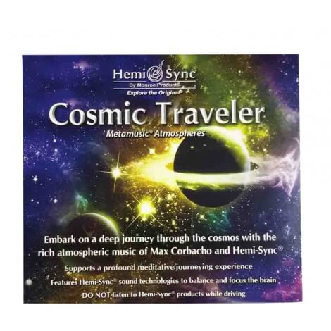 CD audio Cosmic traveler