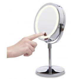 Miroir tactile grossissant x10 Stand Mirror
