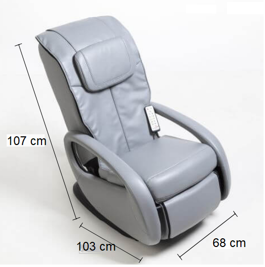 Dimension Fauteuil de massage AT2000