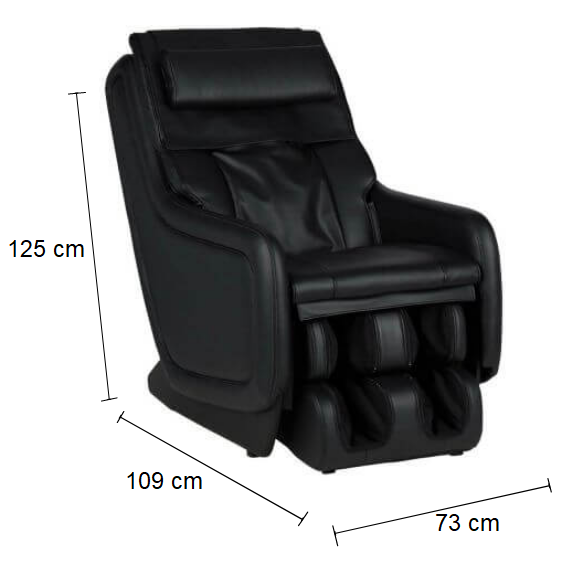 Dimension Fauteuil de massage AT650