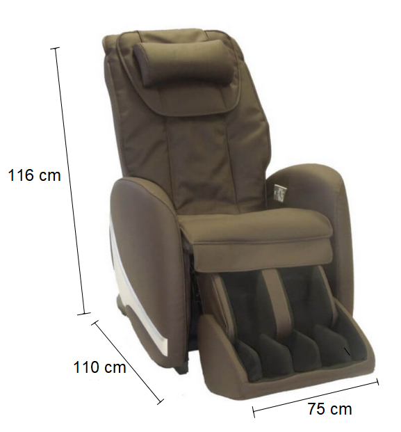 Dimension Fauteuil de massage AT 5000