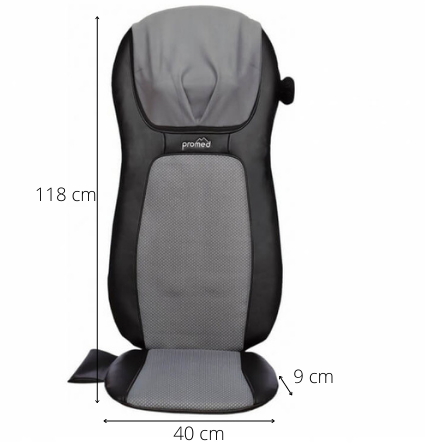 Dimension Siège de massage shiatsu MSA 900