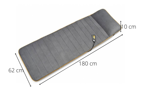 Dimensions Tapis relaxant MM 825