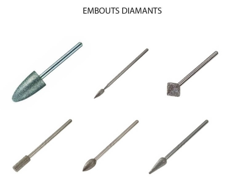 Embouts diamant Promed